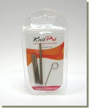 KnitPro Cable Conector - sada na spojování vyměnitelných lanek
