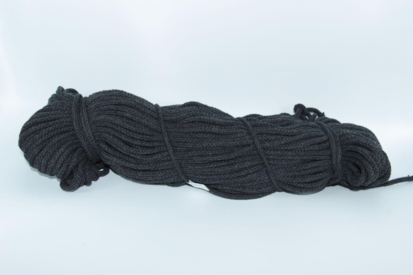 PRIMA Šňůry 5mm/100m antracitová