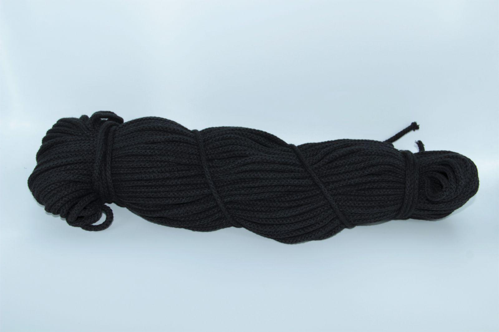 PRIMA Šňůry 5mm/100m černá