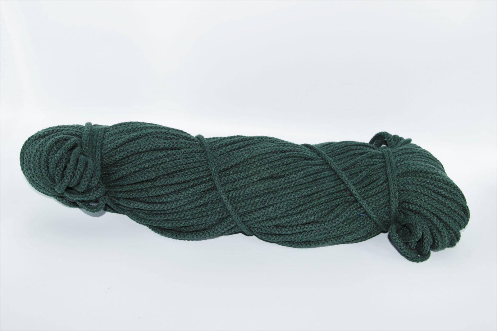 PRIMA Šňůry 5mm/100m lahvově zelená