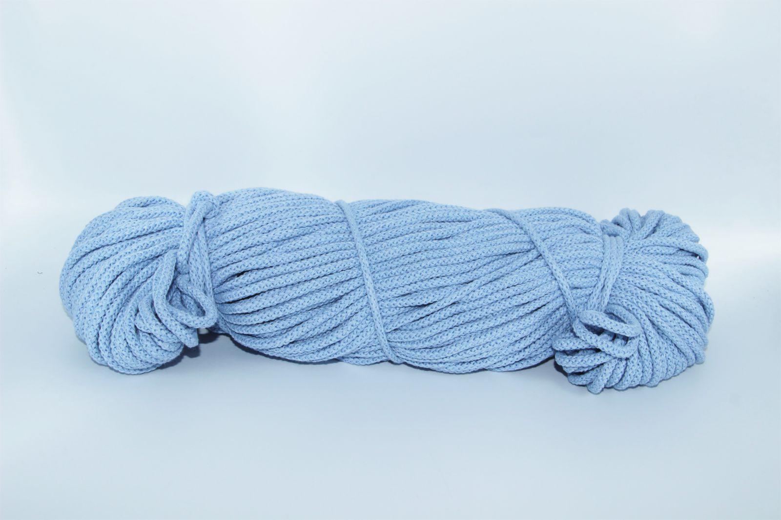 PRIMA Šňůry 5mm/100m světle modrá