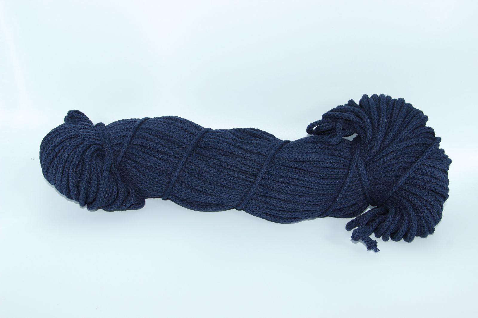 PRIMA Šňůry 5mm/100m tmavě modrá