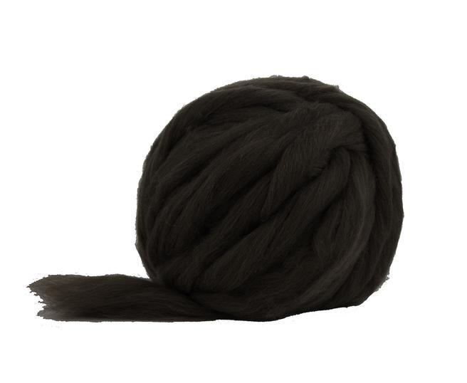 Merino Jumbo Yarn přírodní černá