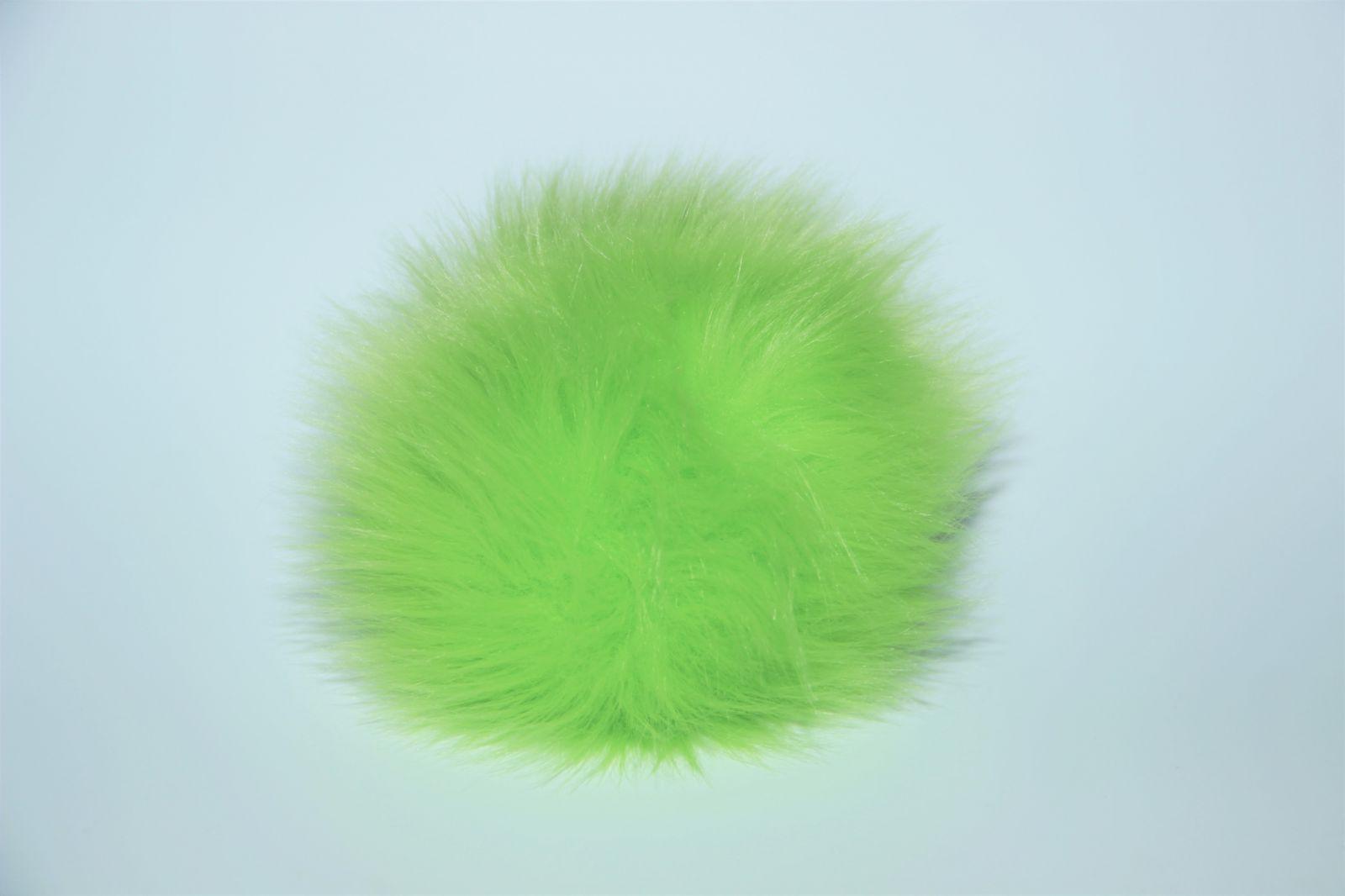 Bambule králík 8cm s poutkem a kroužkem 06 zelenkavá