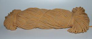 PRIMA Šňůry 5mm zlatožlutá-písková melange