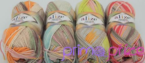 ALIZE Cotton Gold Plus Multicolor