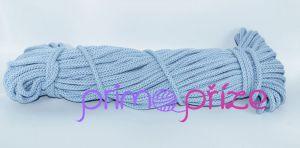 PRIMA Šňůry 8mm světle modrá