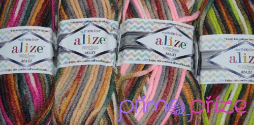 ALIZE Superlana Maxi Multicolor