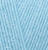 ALIZE Baby Best 287 tyrkysově modrá