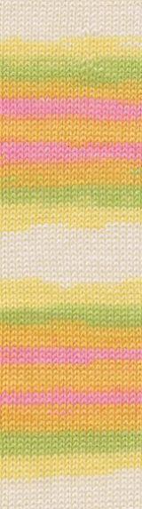 ALIZE Baby Wool Batik 4390 melírovaná