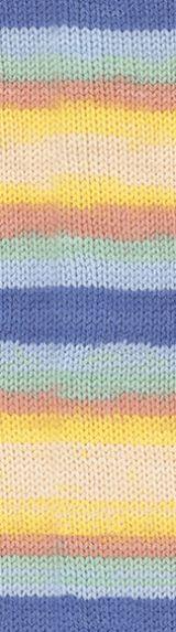 ALIZE Baby Wool Batik 6539 melírovaná