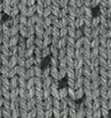 ALIZE Burcum Punto 5910 šedá s černými tečkami