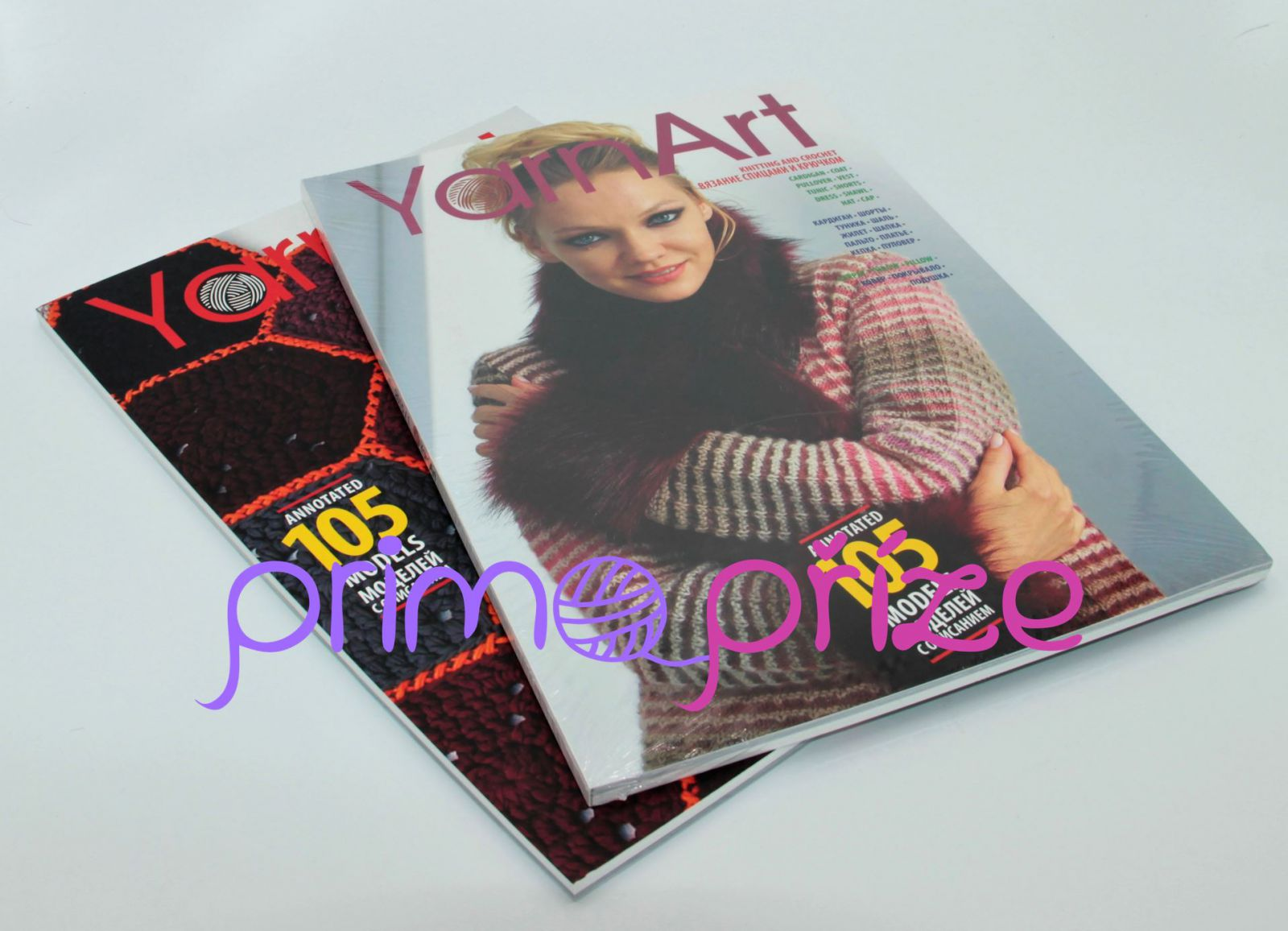 Katalog YarnArt annotated 105 models