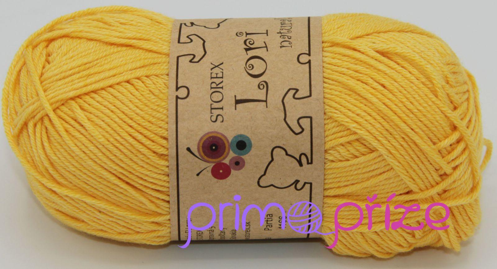 STOREX Lori Natural 181 žlutá