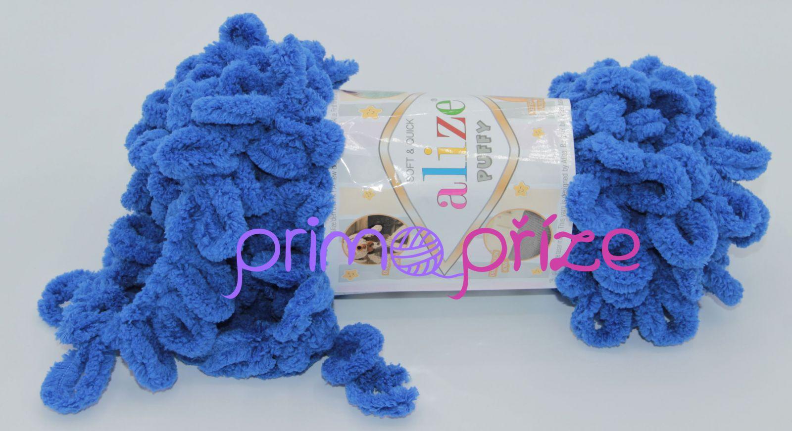 ALIZE Puffy 141 královská modrá
