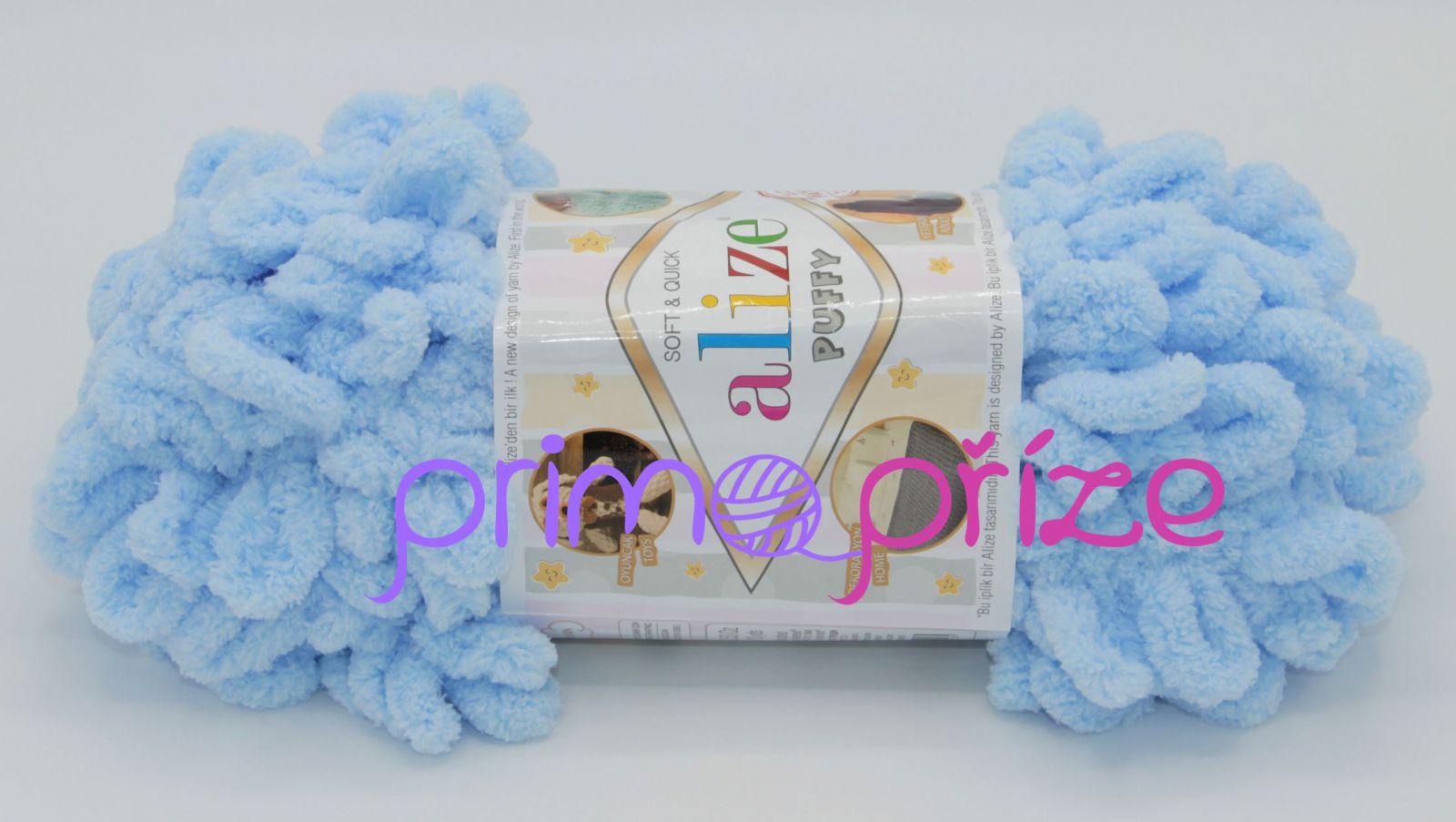 ALIZE Puffy 183 světle modrá