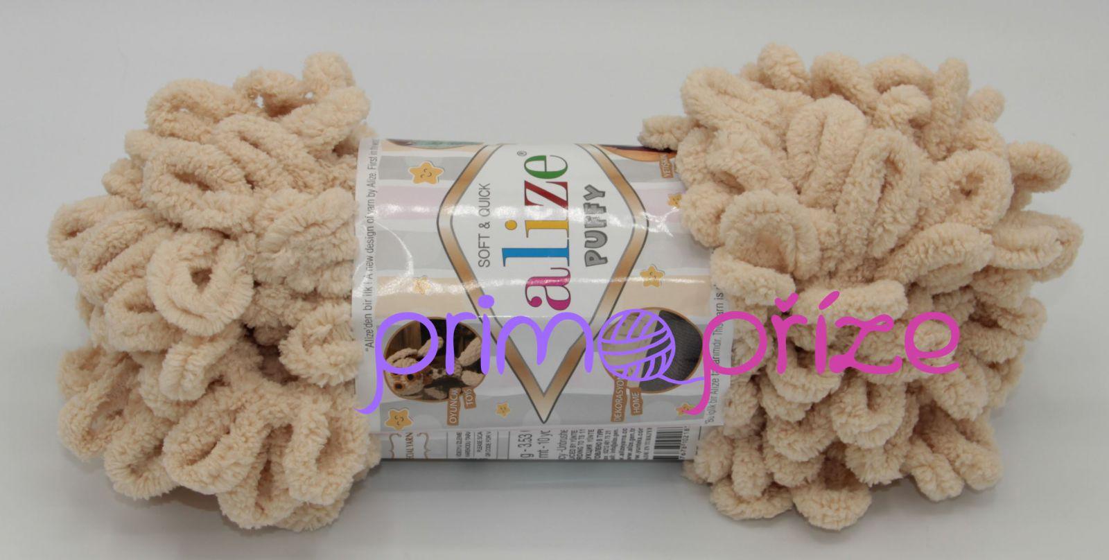 ALIZE Puffy 310 medová