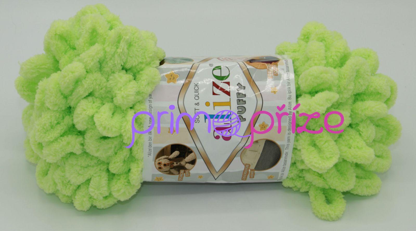 ALIZE Puffy 041 zelenkavá