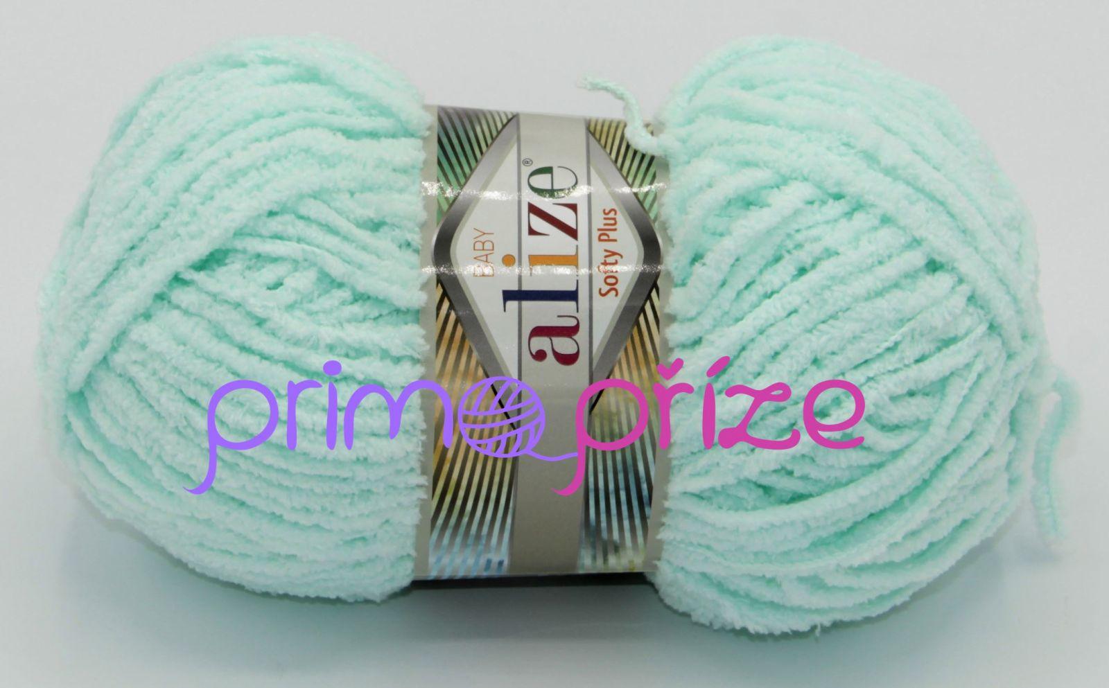 ALIZE Softy Plus 015 světle mentolová