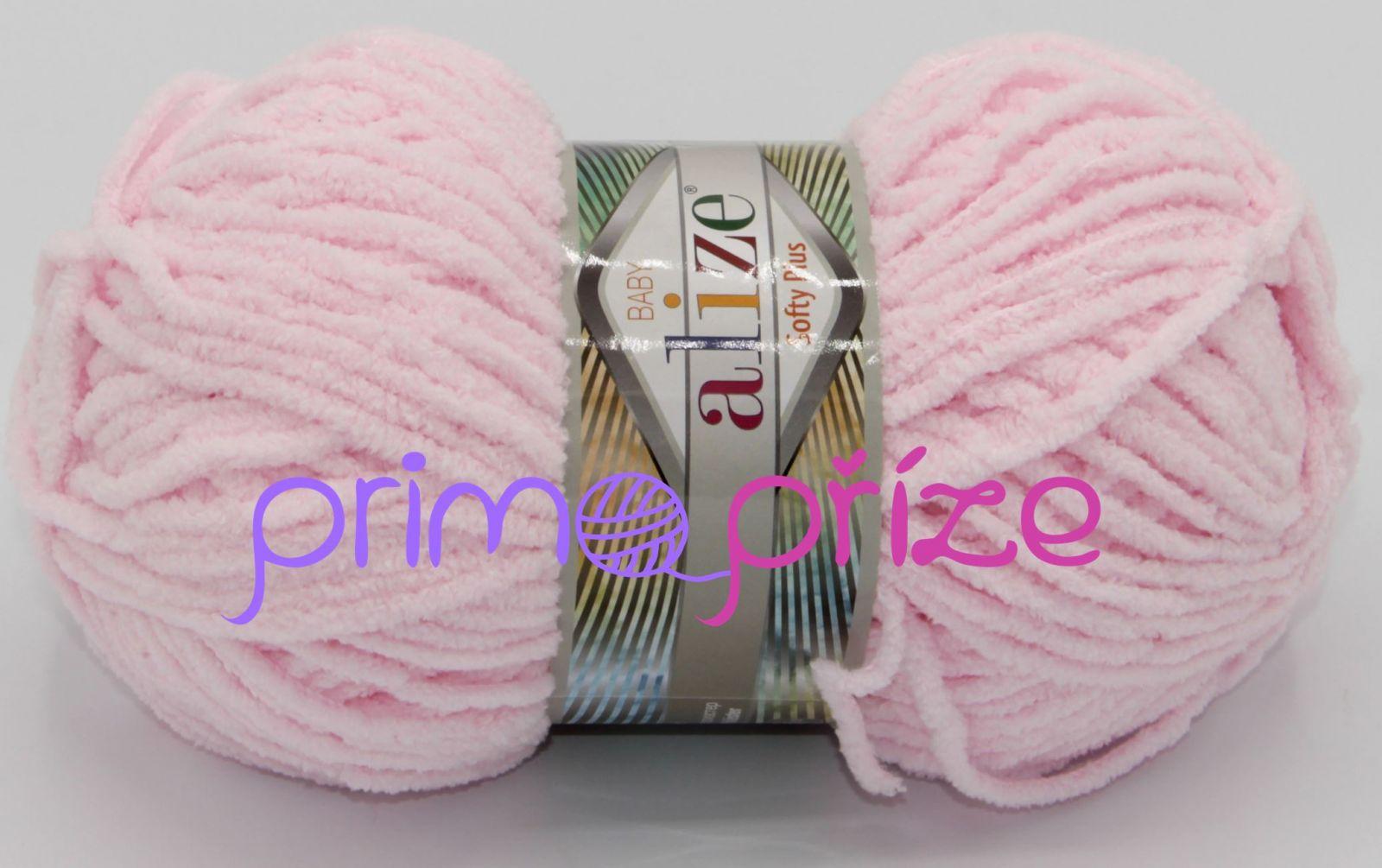 ALIZE Softy Plus 031 světle růžová
