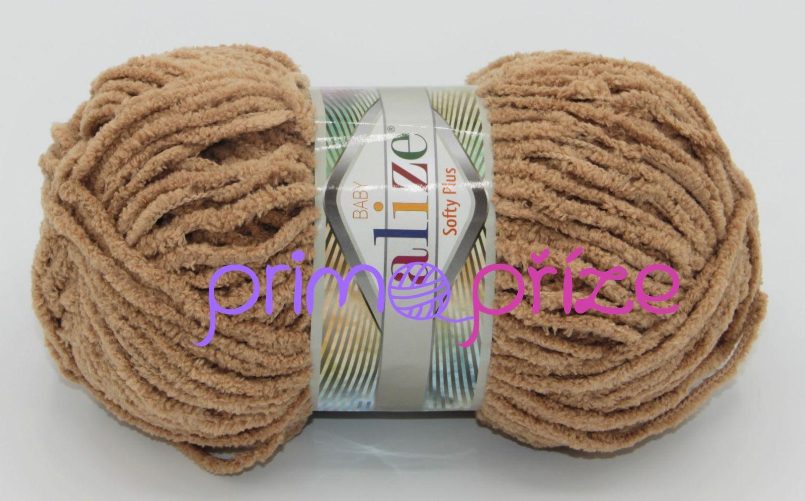 ALIZE Softy Plus 199 tmavší béžová