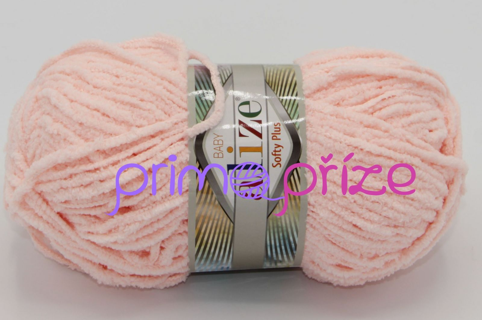 ALIZE Softy Plus 340 světle lososová