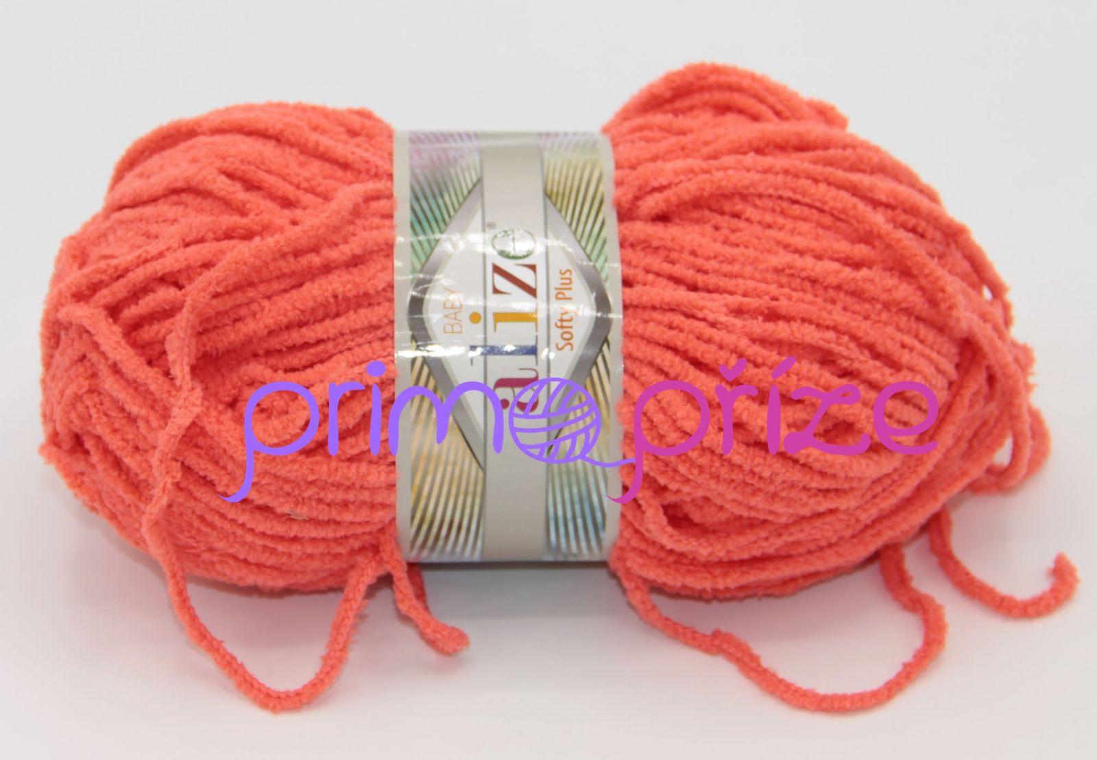 ALIZE Softy Plus 526 lososová