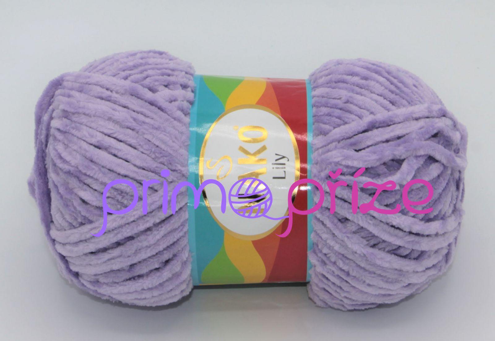 NAKO Lily 2842 fialková