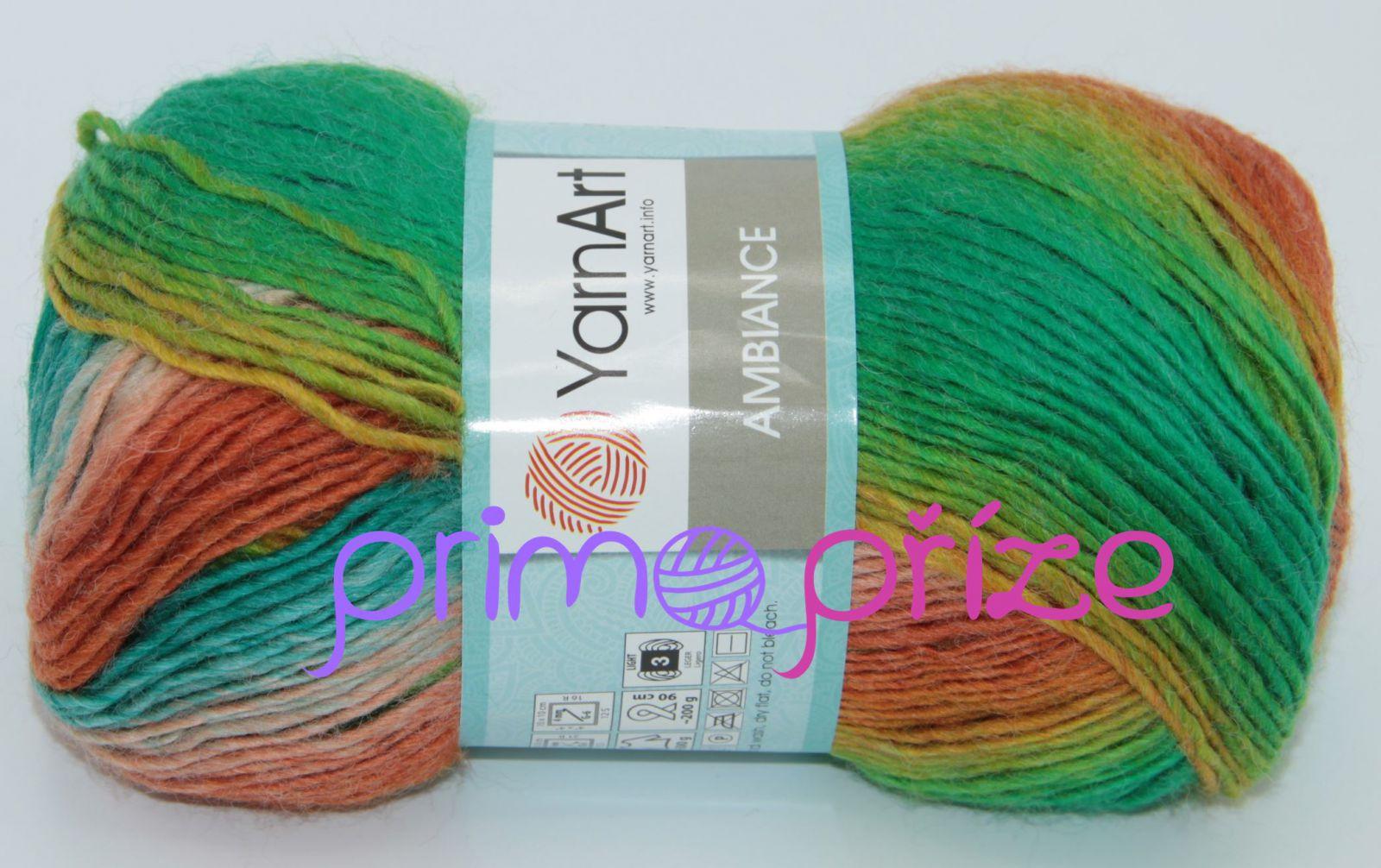 YarnArt Ambiance 152 melírovaná