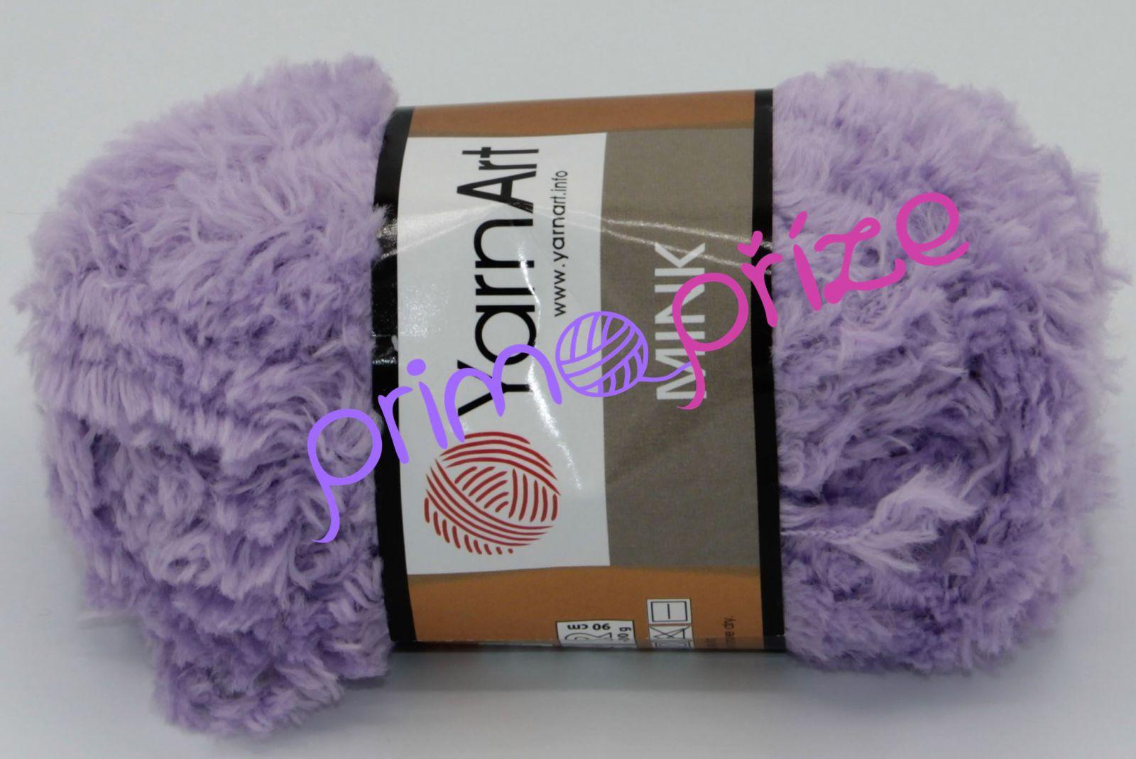 YarnArt Mink 350 fialková