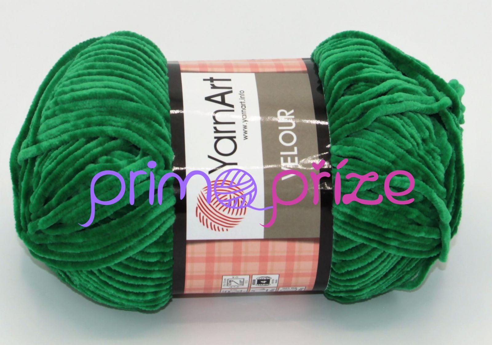 YarnArt Velour 856 zelená