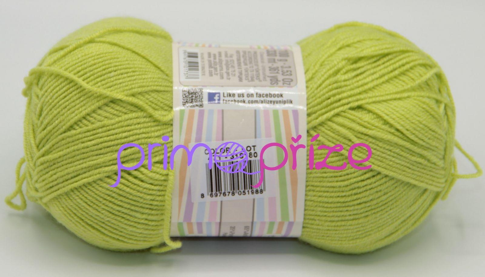 ALIZE Happy Baby 471 jarní zelená