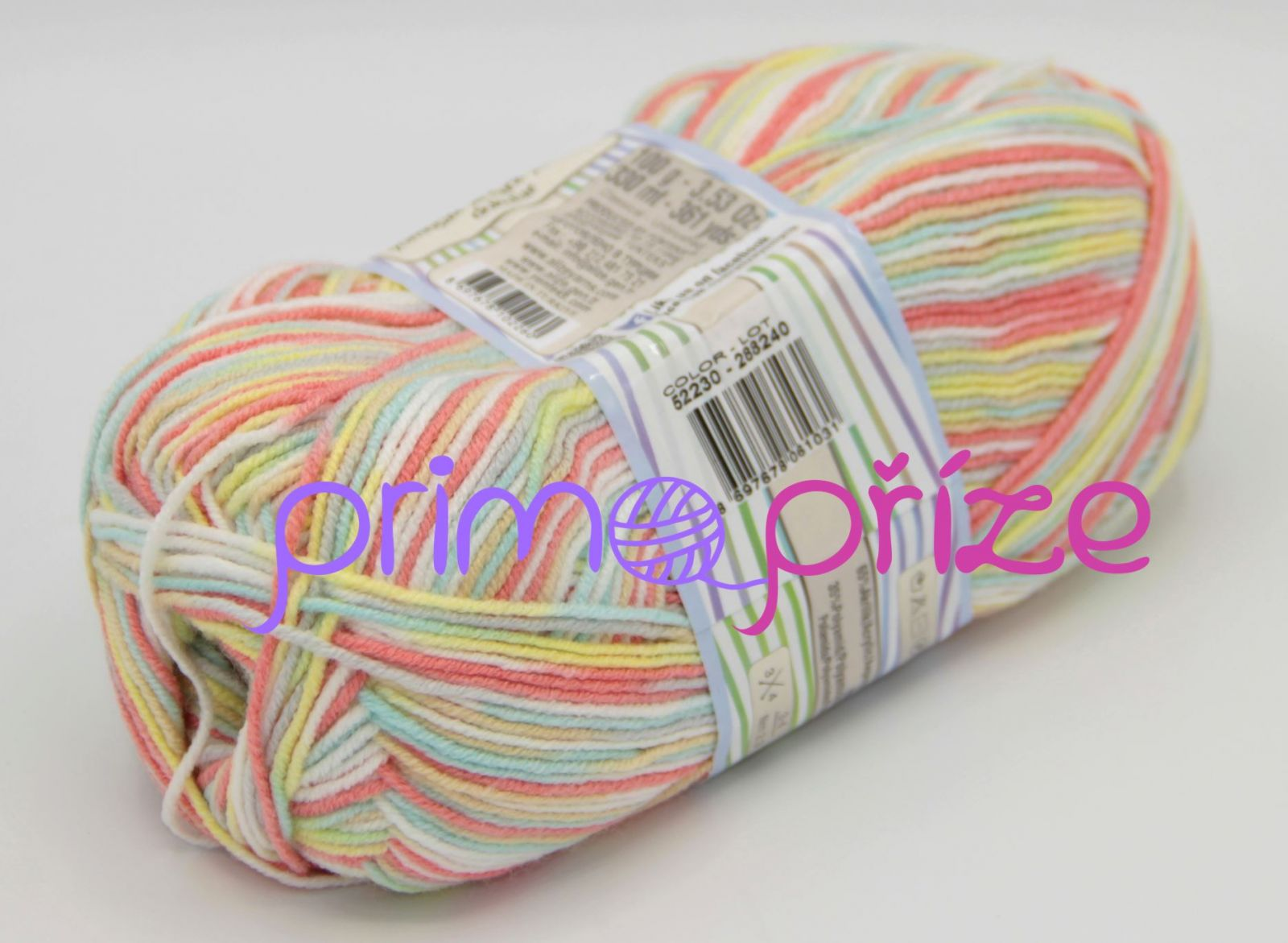 ALIZE Happy Baby Multicolor 52230 melírovaná