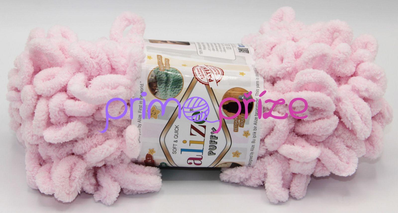 ALIZE Puffy 031 světle růžová