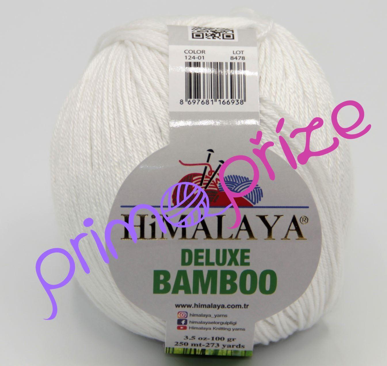 HIMALAYA Deluxe Bamboo 124-01 bílá