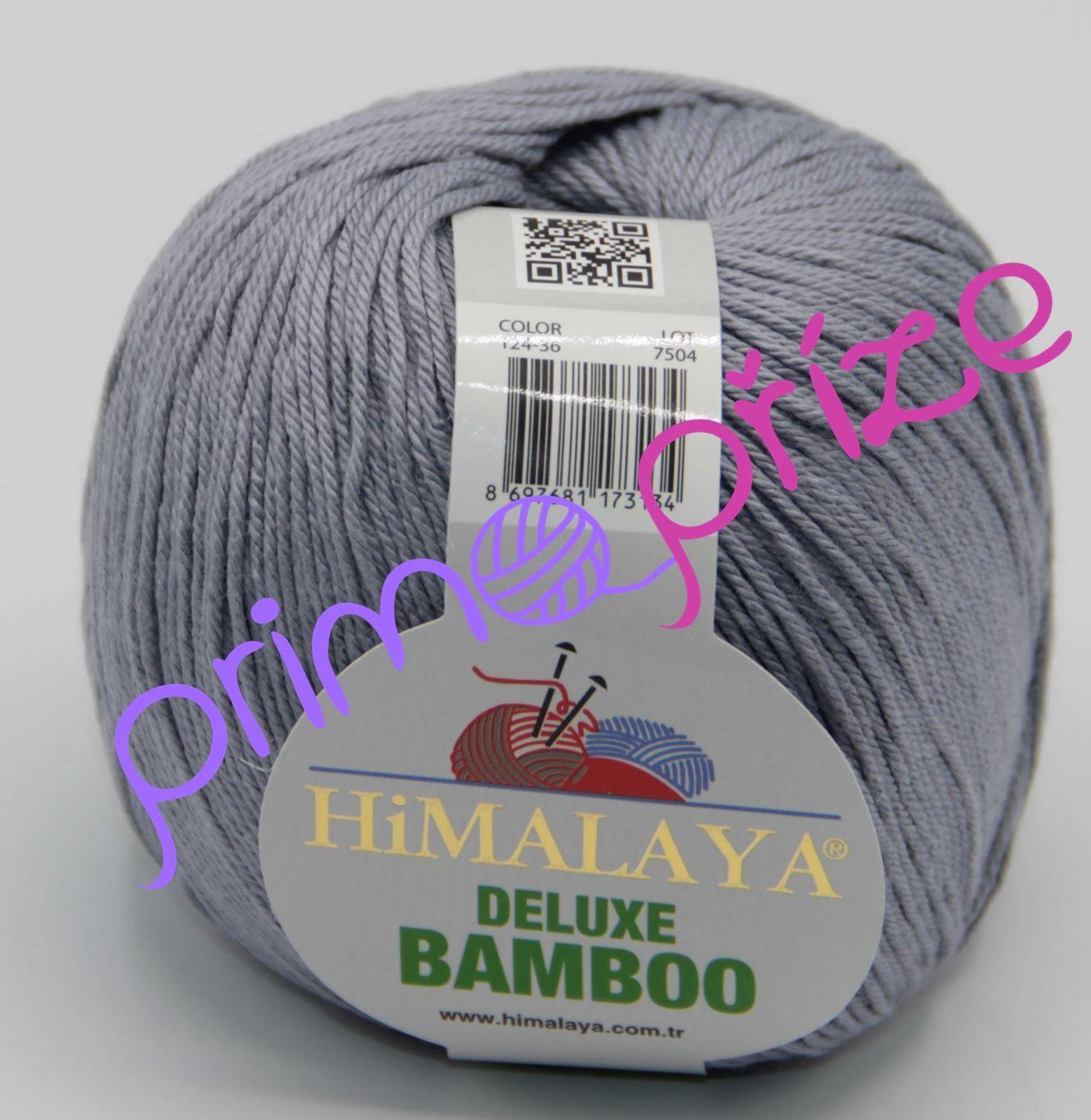 HIMALAYA Deluxe Bamboo 124-36 šedá