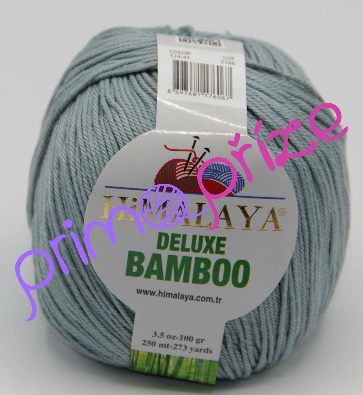 HIMALAYA Deluxe Bamboo 124-41 šedozelená