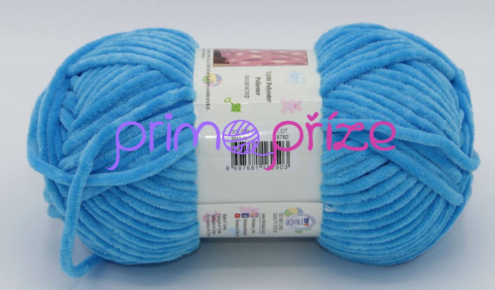 HIMALAYA Dolphin Baby 80326 azurově modrá