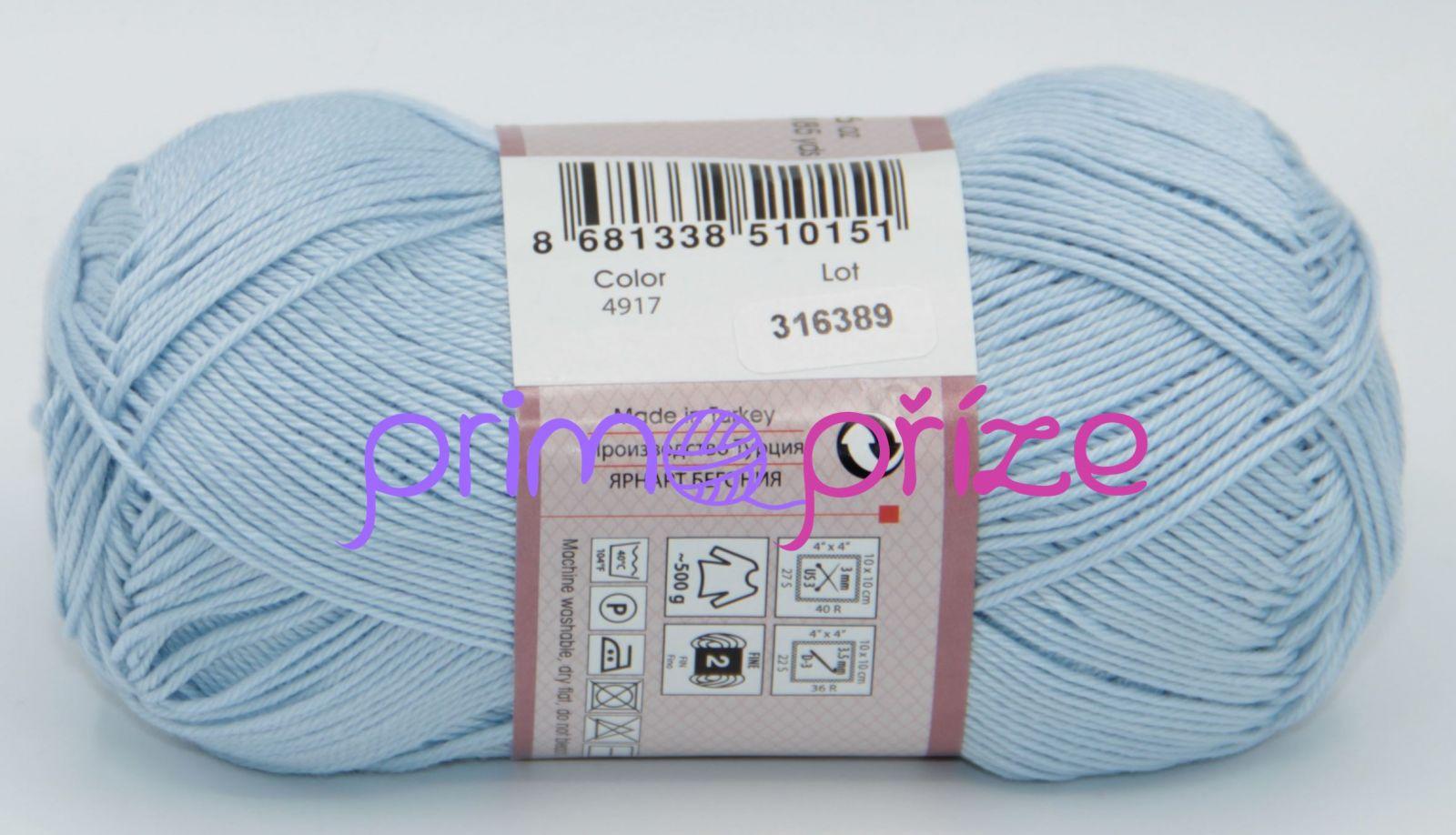 YarnArt Begonia 4917 světle modrá