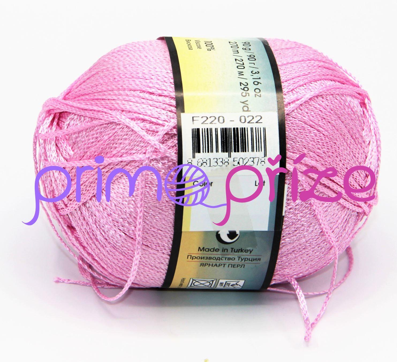YarnArt Pearl 220 světle růžová