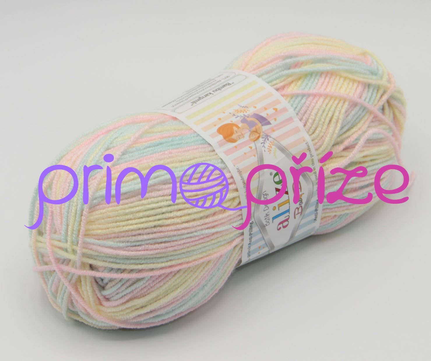 ALIZE Baby Best Soft Batik 6655 melírovaná