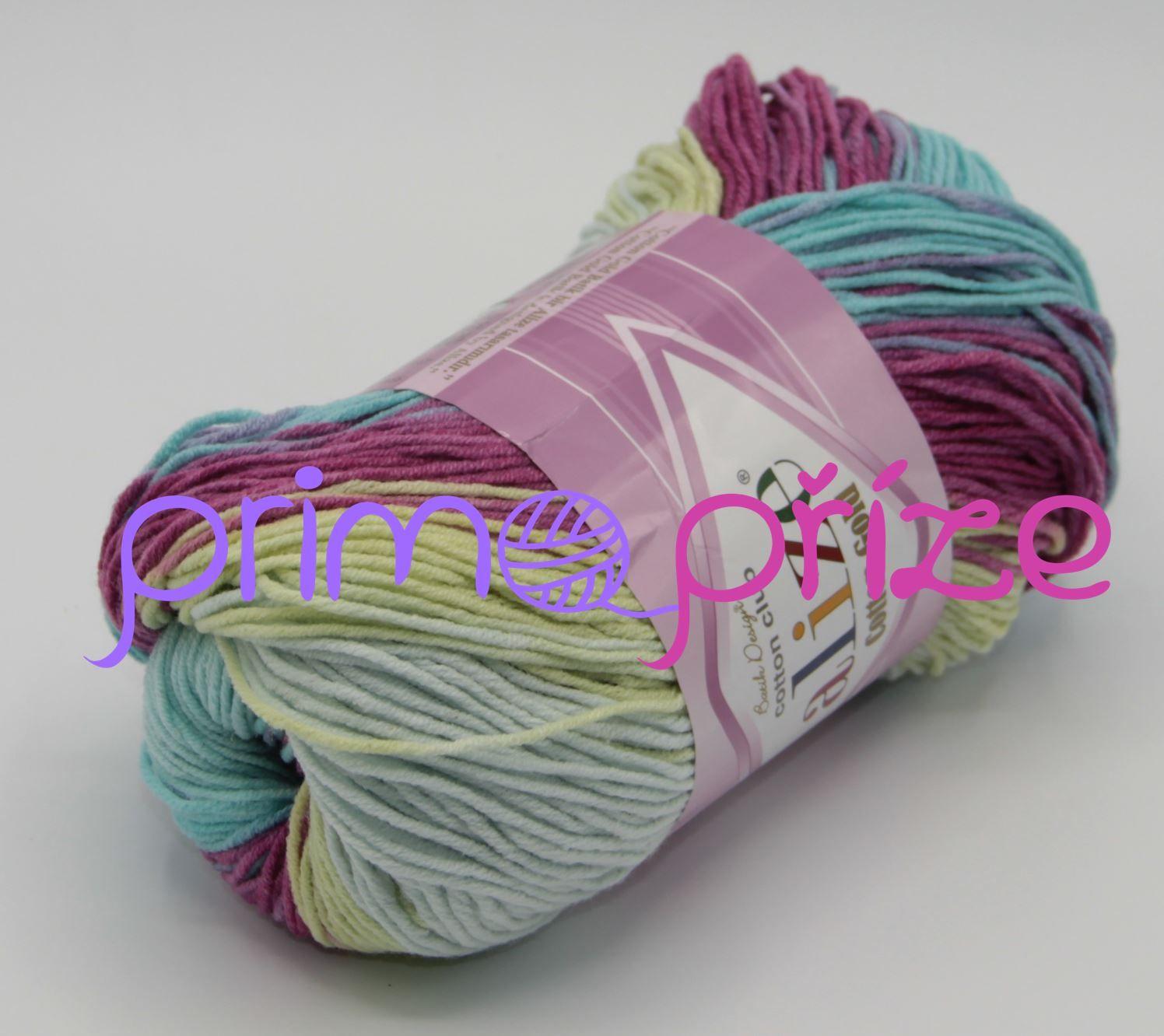 ALIZE Cotton Gold Batik 6519 melírovaná