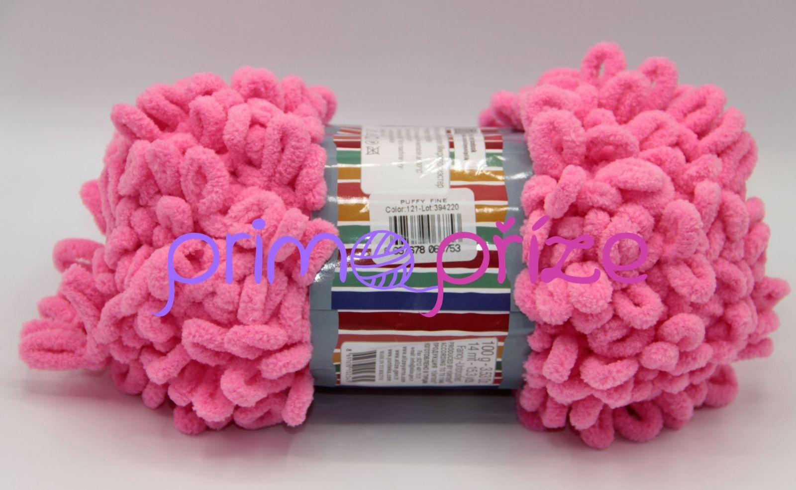 ALIZE Puffy Fine 121 růžová