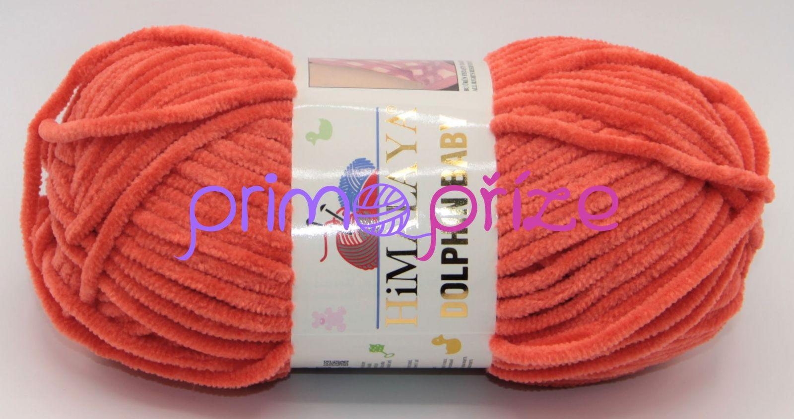 HIMALAYA Dolphin Baby 80312 tmavě oranžová