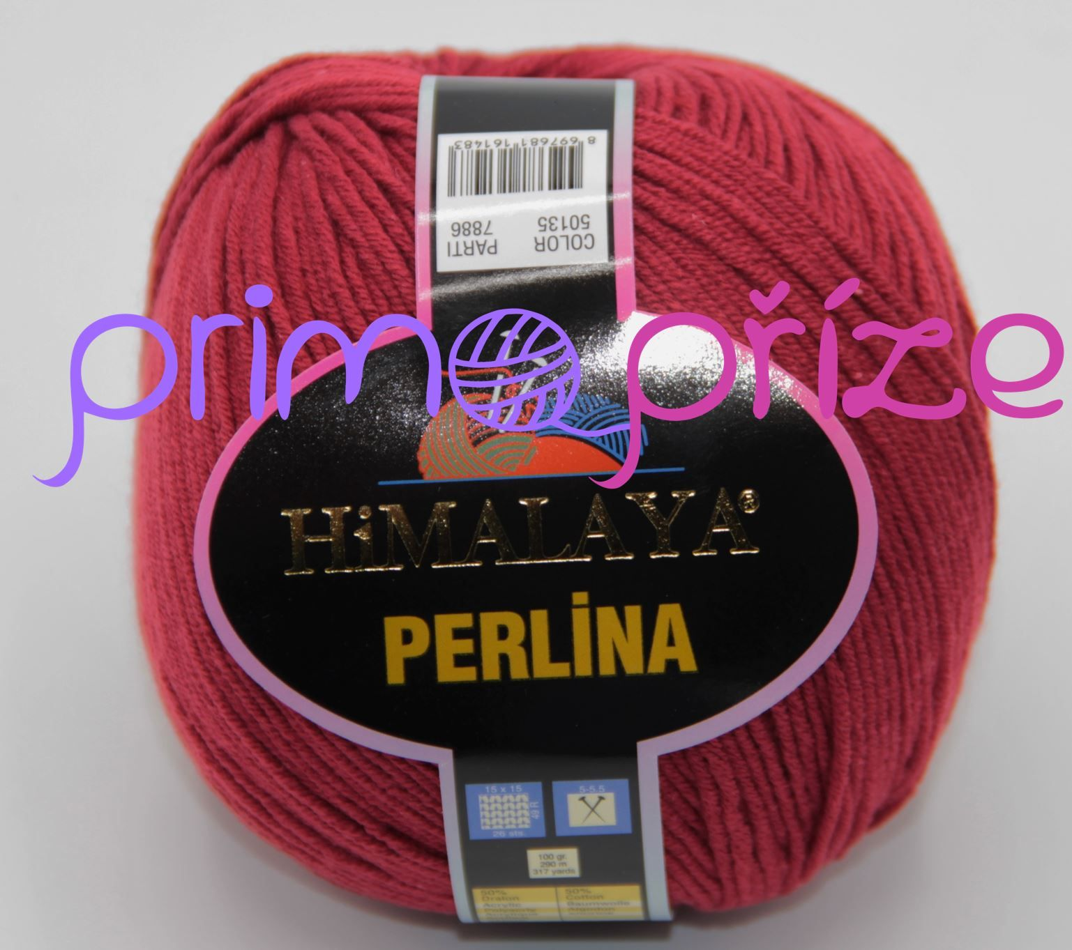 HIMALAYA Perlina 50135 vínová