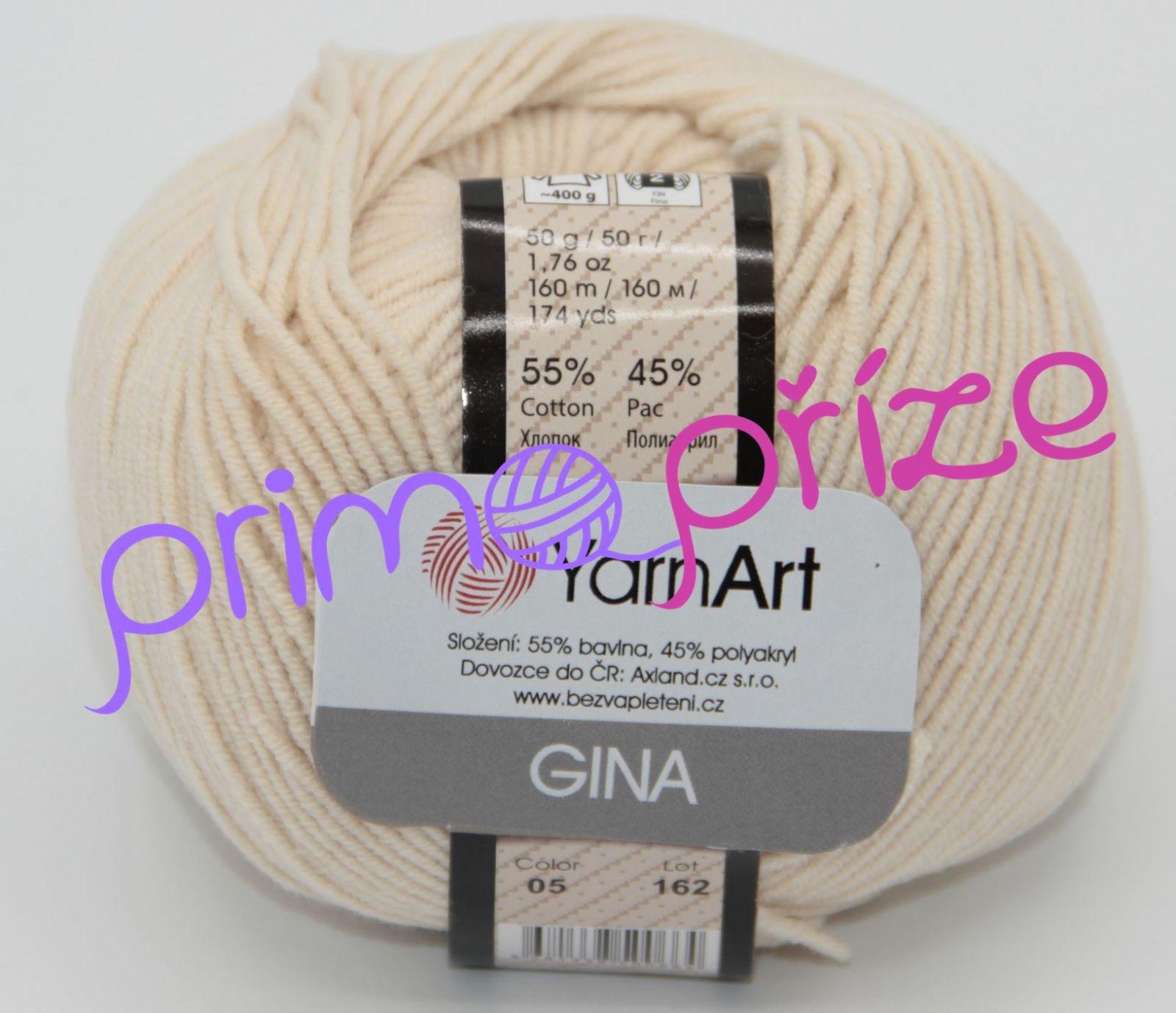 YarnArt Jeans/Gina 05 béžová