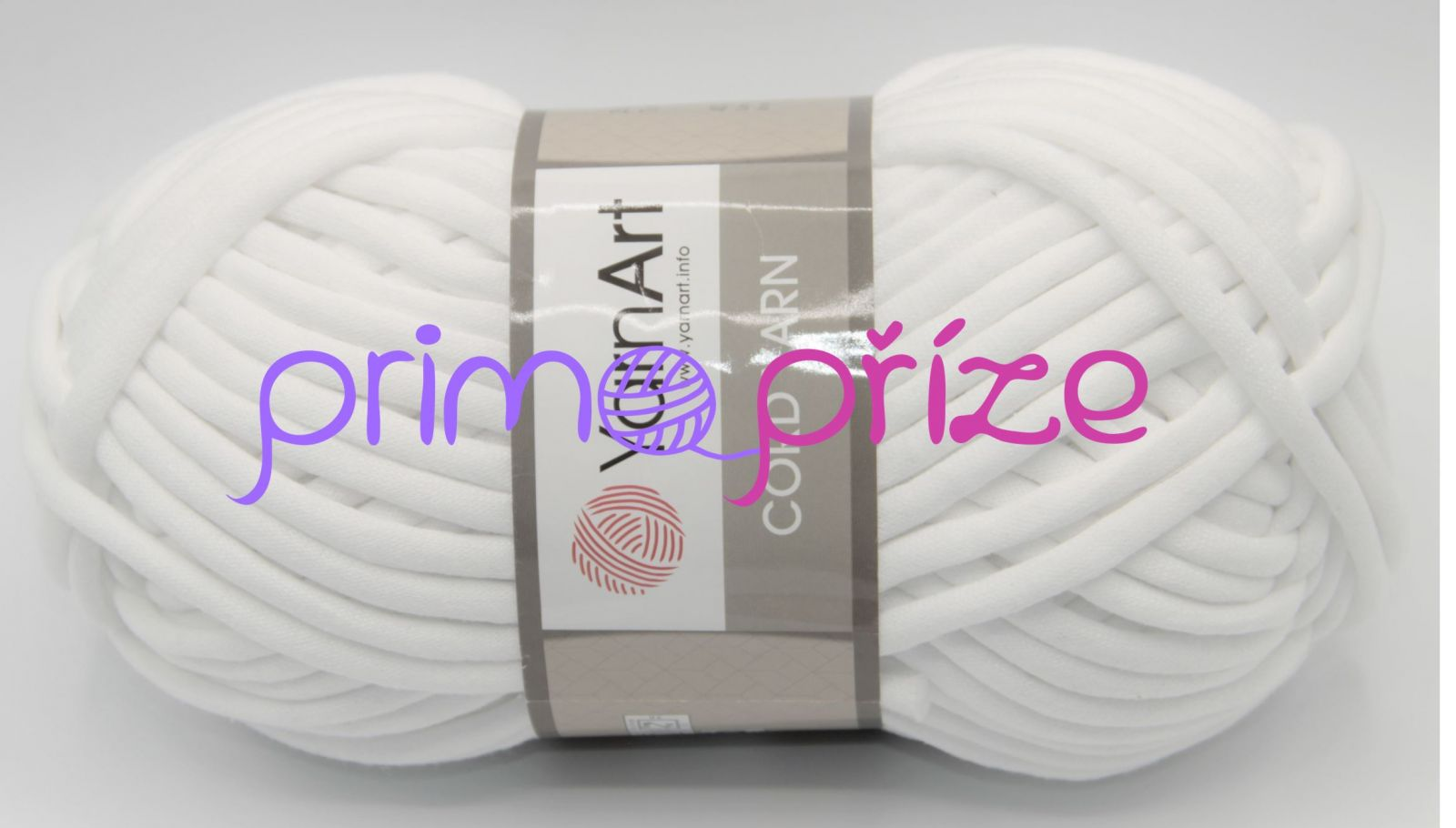 YarnArt Cord Yarn 121 optic bílá