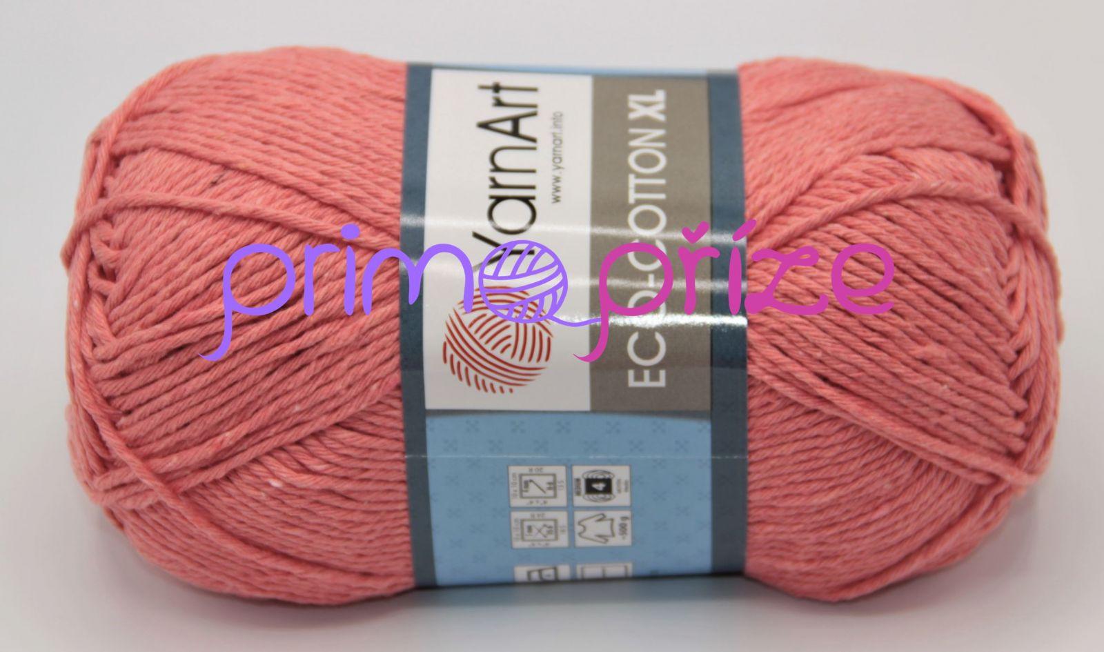YarnArt Eco Cotton XL 779 oranžová