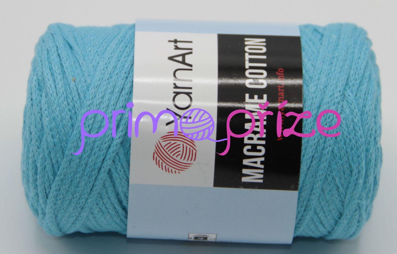 YarnArt Macrame Cotton 763 tyrkysová