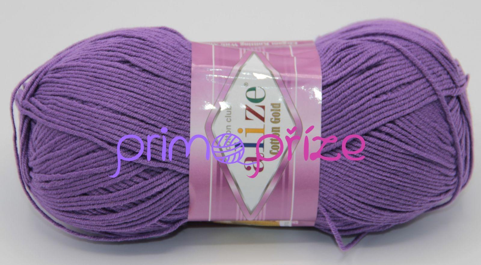ALIZE Cotton Gold 044 fialová
